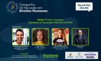 Abertas inscrições para primeira edição da Campanha Estadual de Educação em Direitos Humanos