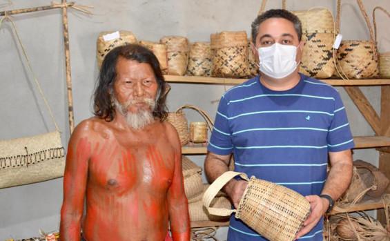 Adetuc realiza ação de fomento à cultura durante 4ª edição dos Jogos tradicionais do povo Krahô, em Itacajá