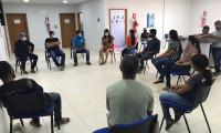 Egressos do Sistema Penal participam de roda de conversa sobre a saúde mental