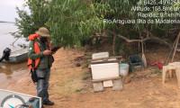 Ação de fiscalização garante preservação do rio Caiapó
