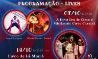 Lamira Artes Cênicas, com incentivo da Adetuc, lança Festival MultiVerso-Edição Circo