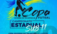 Equipes disputam Copa Governo do Tocantins de Futsal em Araguatins neste final de semana