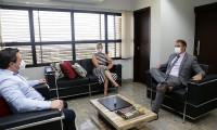 Defensora pública-geral recebe o Procurador-Geral do Estado em agenda institucional