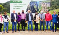 Vice-governador do Tocantins e prefeitos da região do Jalapão e do Parque do Cantão realizam visita técnica em parques nacionais do Rio Grande do Sul