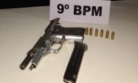Suspeito é preso depois que PM encontra arma de fogo em camionete na Rodovia TO-010