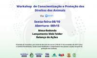 Meio Ambiente promove workshop de conscientização e proteção dos direitos dos animais