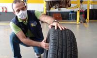 Metrologia Estadual reforça cuidados que devem ser redobrados com pneus no período chuvoso