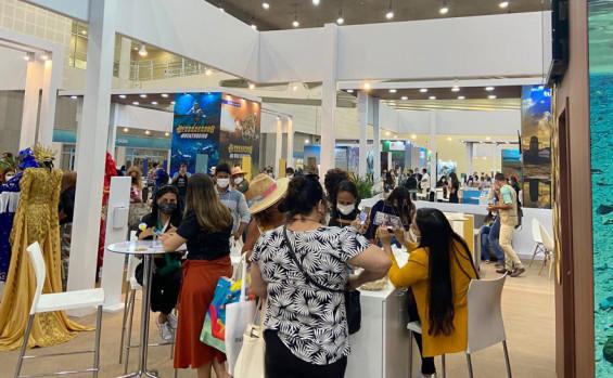 Tocantins encanta visitantes da Abav Expo Collab 2021 em Fortaleza