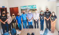 Chapada da Natividade recebe equipe técnica da Indústria e Comércio e da TO Minérios, para discutir projetos de desenvolvimento econômico