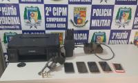 Polícia Militar recupera veículo roubado em poucas horas após o furto em Santa Rosa