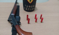 Homem é preso pela PM por porte ilegal de arma de fogo em Araguaína