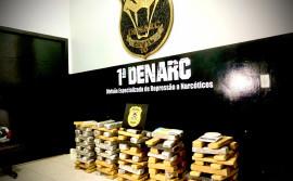 1ª Denarc deflagra a operação Subversio e apreende cerca de 110 kg de drogas