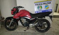 Dupla é detida na cidade de Peixe logo após roubar uma motocicleta em Gurupi