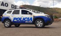 Em Paraíso, Polícia Militar prende dois homens e recupera veículo roubado