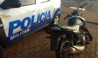 Polícia Militar recupera moto furtada e prende receptador em Lagoa da Confusão
