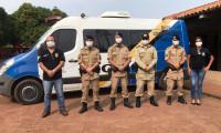 9º Batalhão da PM recebe Forças de Segurança Pública para implantação de Conselhos Comunitários de Segurança