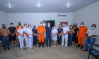 Equipe da Senasp visita Corpo de Bombeiros Militar do Tocantins