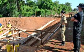 Seciju promove reformas e construções por meio de mão de obra de custodiados no Comando Geral e 1° Batalhão da PM