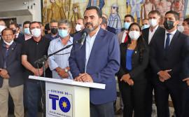 """""""Manteremos os compromissos com os servidores e com o equilíbrio fiscal do Estado"""", afirma o governador em exercício Wanderlei Barbosa"""