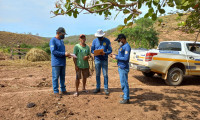 Adapec monitora abrigos de morcegos hematófagos e orienta produtores rurais na região sudeste do Tocantins