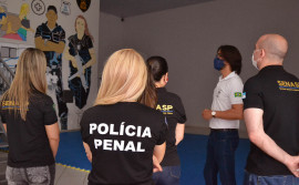 Seciju apresenta ações voltadas à valorização dos servidores do Sistema Penal durante visita técnica da Secretaria Nacional de Segurança Pública