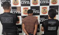 Homem investigado pela Polícia Civil por maus-tratos é preso por posse irregular de arma de fogo no sul do Estado