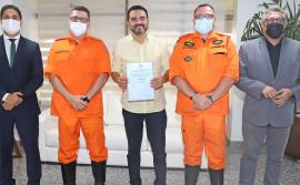 Governador Wanderlei Barbosa nomeia coronel Ornelas para chefiar o Estado Maior do Corpo de Bombeiros do Tocantins