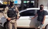 Polícia Militar recupera veículo roubado e identifica suspeitos pelo crime em Gurupi