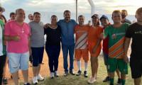 Governador em exercício, Wanderlei Barbosa, prestigia Futebol Solidário em Cariri do Tocantins