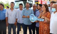 Governador Wanderlei Barbosa participa da entrega de máquinas perfuratrizes para prefeitos da região do Bico do Papagaio
