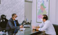 Secretaria da Indústria e Comércio recebe visita institucional do Presidente da Fieto para conversa sobre o panorama positivo da economia no Estado