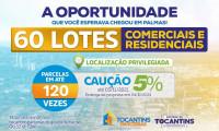 Governo do Tocantins lança licitação para venda de 60 imóveis em áreas privilegiadas da Capital