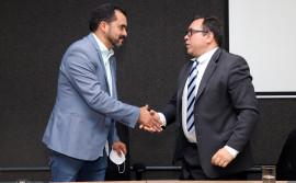 Governador Wanderlei Barbosa apresenta novo secretário de Segurança e garante andamento ao plano de carreiras da Polícia Civil