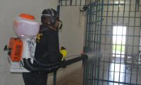 Prevenção a Covid-19: Ações de limpeza e higienização são realizadas na CPP de Palmas e no Presídio Barra da Grota