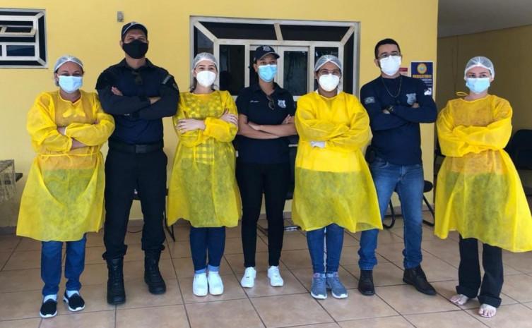Parceria entre a Unidade de Semiliberdade Masculina de Palmas e Secretaria de Saúde de Palmas oportunizou a testagem para covid em servidores