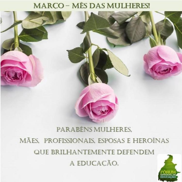 Março- Mês da Mulher