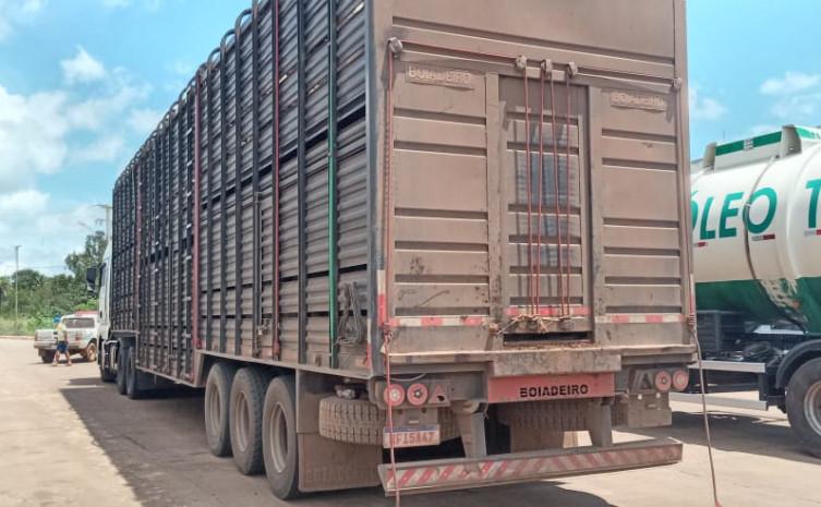 Fiscalização em barreira fixa de Aguiarnópolis