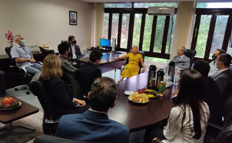Procurador-geral Nivair Borges conversou com novos procuradores e subprocuradores das especializadas