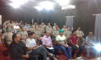 Banda de Música da PM recebe curso de regência de bandas e metais de mestre da Paraíba em Araguaína