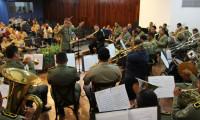 Banda de música da Polícia Militar do Tocantins é parabenizada no Dia do Músico