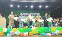 Polícia Militar realiza formatura de alunos do projeto Batalhão Musical em Araguaína