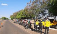 PM encerra campanha do Dia Nacional do Ciclista com blitz educativa em Gurupi