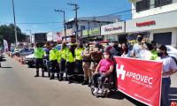 Polícia Militar participa de blitz educativa alusiva ao Dia Mundial em Memória às Vítimas de Trânsito em Palmas