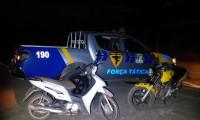 PM recupera motocicleta com restrição de furto/roubo em Lavandeira