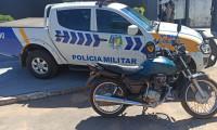 Suspeita de receptação é presa e moto recuperada pela PM em Formoso do Araguaia