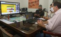 Em videoconferência com secretários estaduais, Halum apresenta pavilhão institucional da Agrotins 2020