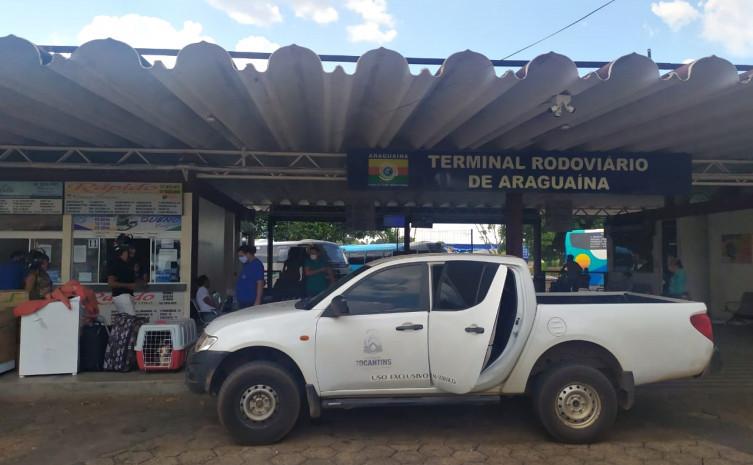 Averiguação da situação da rodoviária do município de Araguaína
