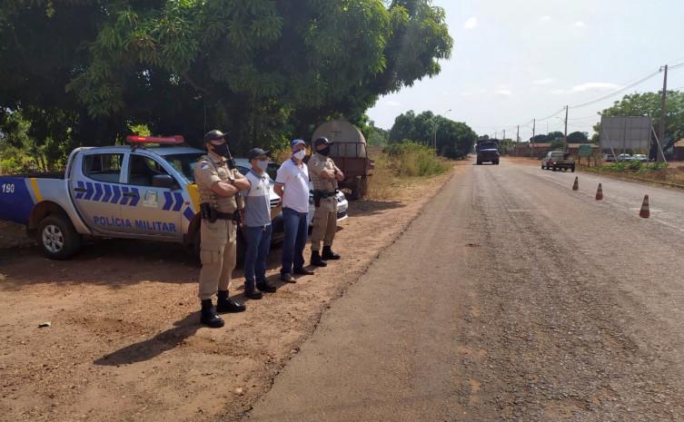 A operação que contou com apoio da PMTO teve início no município de Tocantinópolis