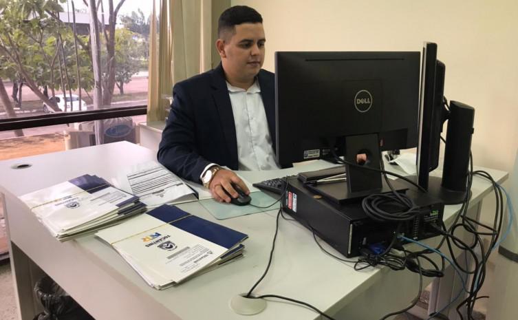 Contencioso Administrativo dando andamento nos processos